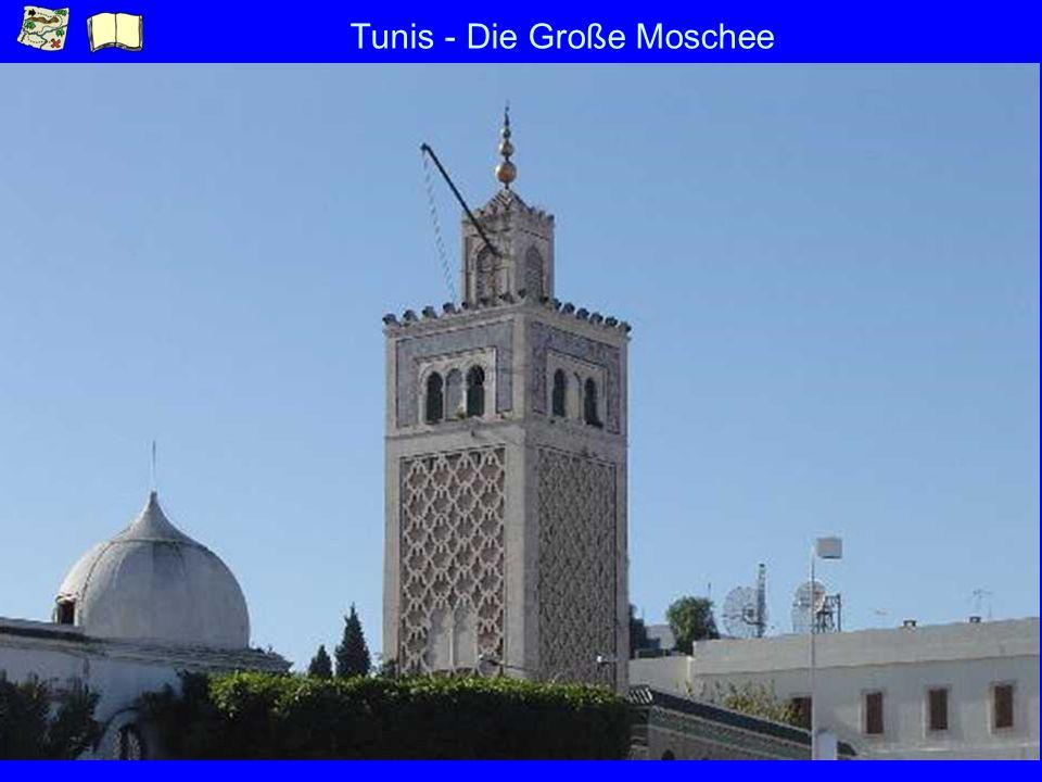 Tunis - Die Große Moschee