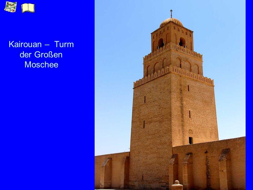 Kairouan – Turm der Großen Moschee