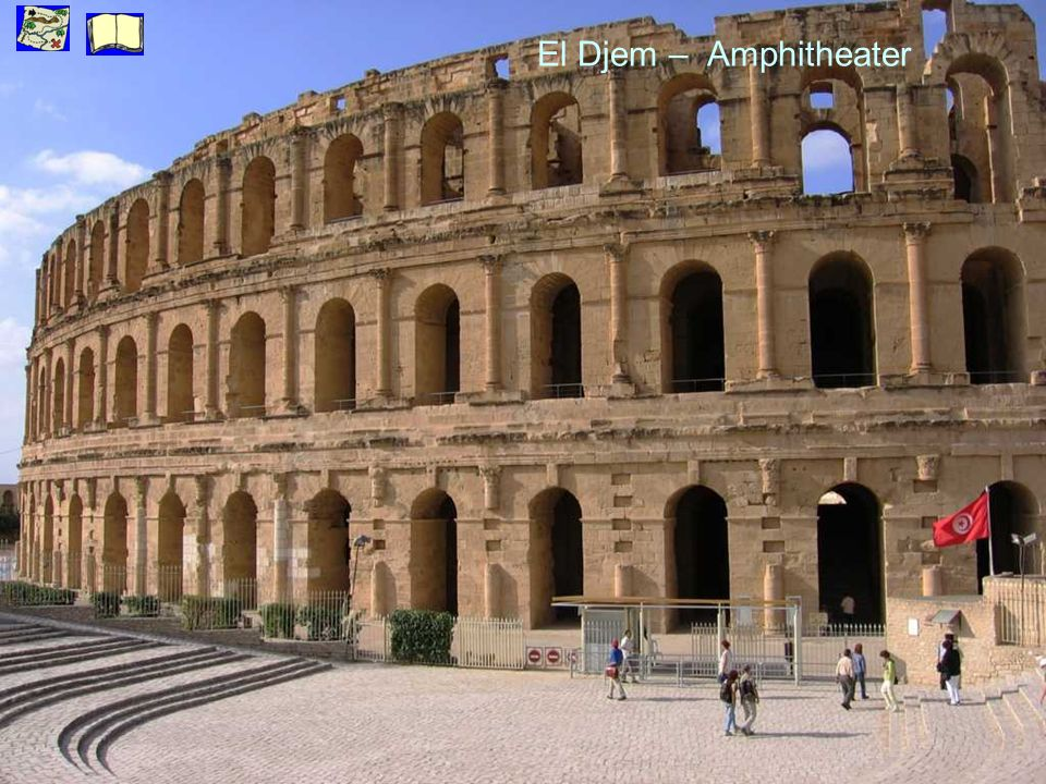 El Djem – Amphitheater