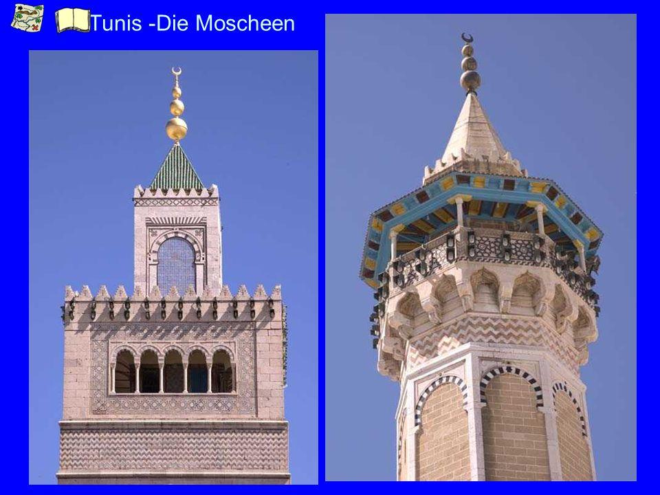 Tunis -Die Moscheen