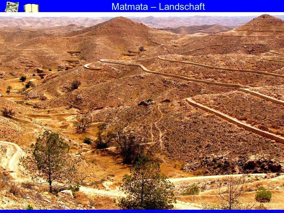Matmata – Landschaft