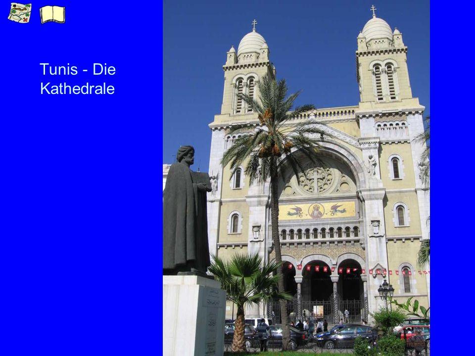 Tunis - Die Kathedrale