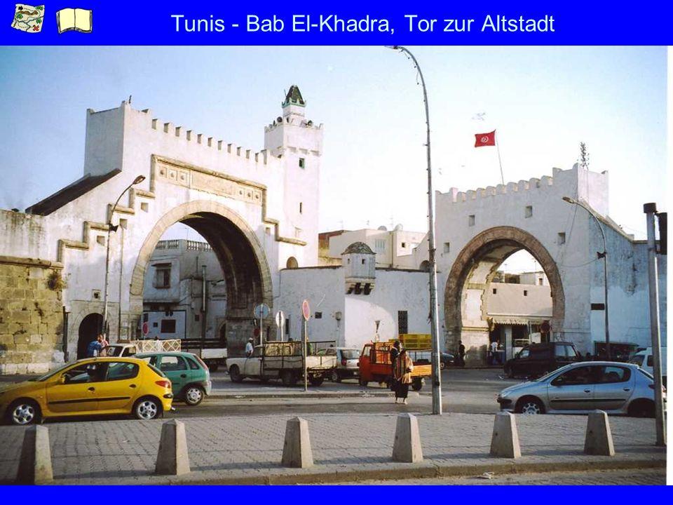 Tunis - Bab El-Khadra, Tor zur Altstadt