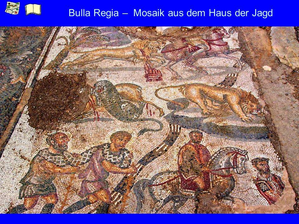 Bulla Regia – Mosaik aus dem Haus der Jagd