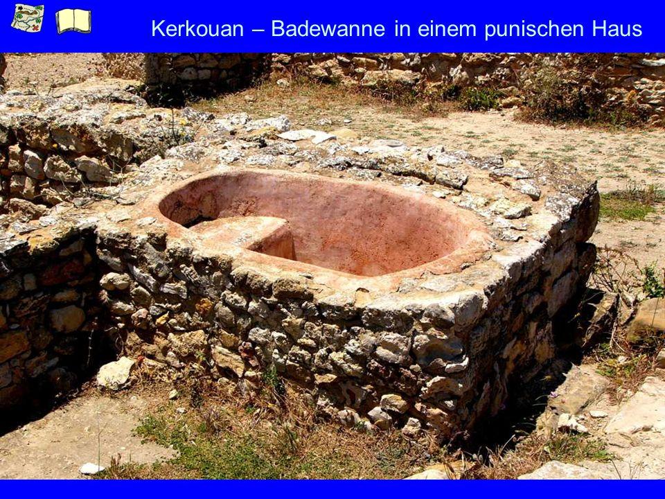 Kerkouan – Badewanne in einem punischen Haus