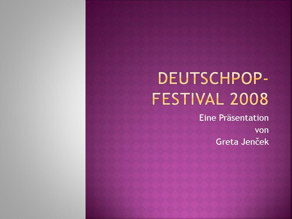 Deutsche Popmusik ist erfreulicherweise wieder im Trend, auch bei den Jugendlichen.