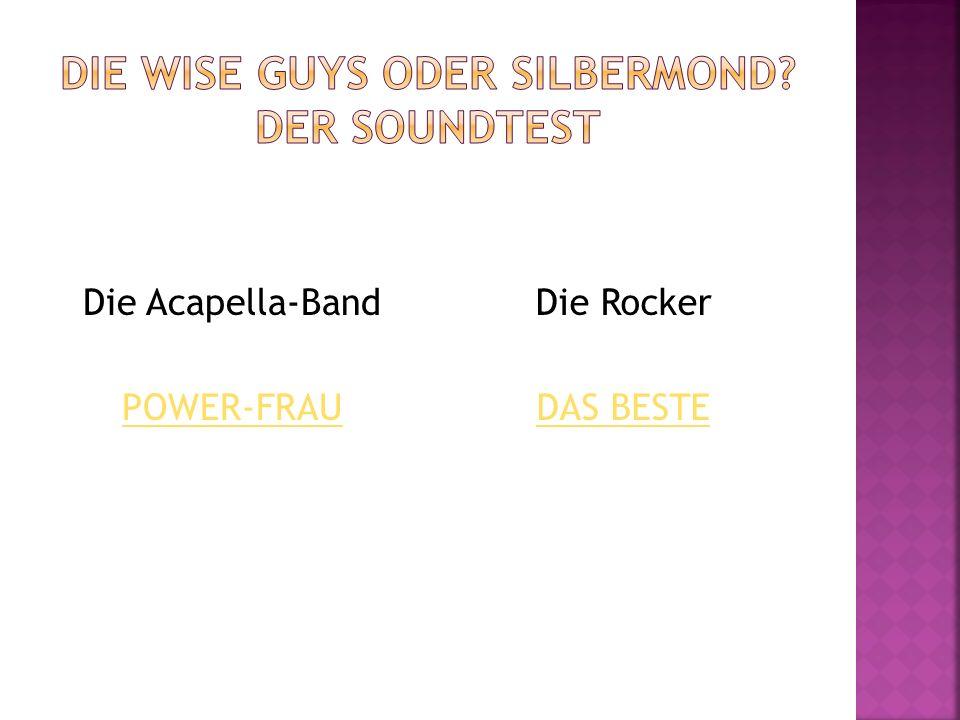 Power-Frau Text und Musik: Daniel Dän Dickopf Arrangement: Ingo Wolfgarten Ich wecke sie mit meinem fröhlichsten Lachen: Aufstehn, Schatz, Karriere machen.