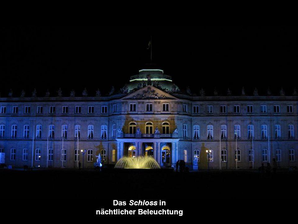 Das Schloss und links, die Staatliche Kunstgalerie: Kunstgebäude