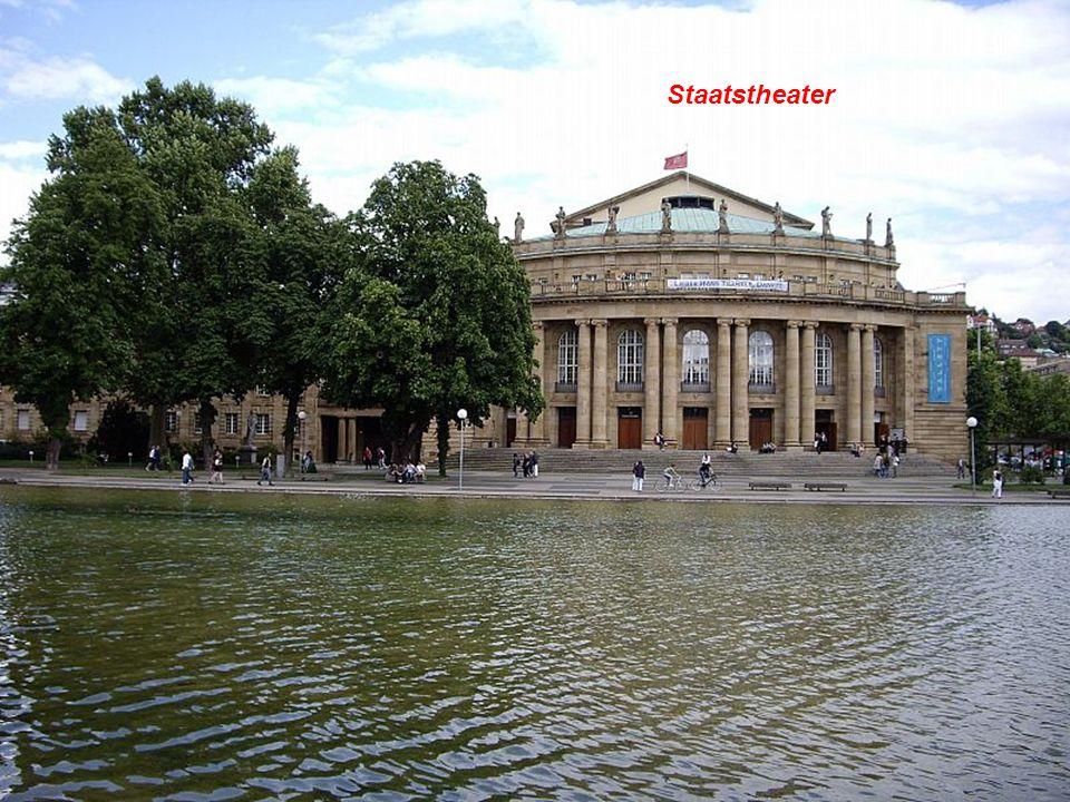 StaatstheaterLandtag (Parlamento de Baden-Württemberg)
