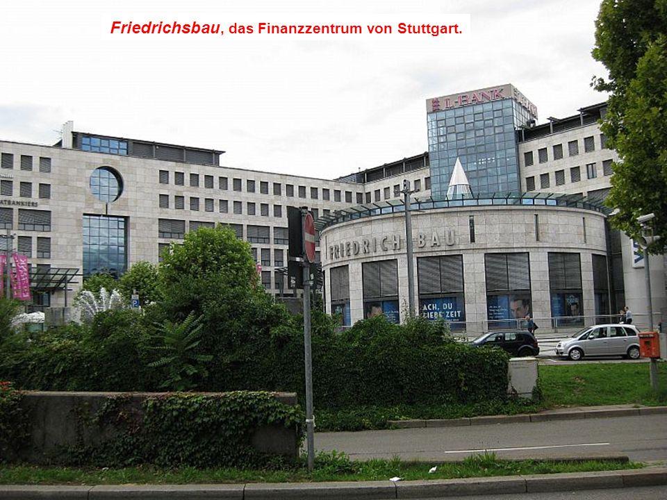 Hegelhaus, das Haus des Philosophen Hegel. Dahinter ist Kaufhof.