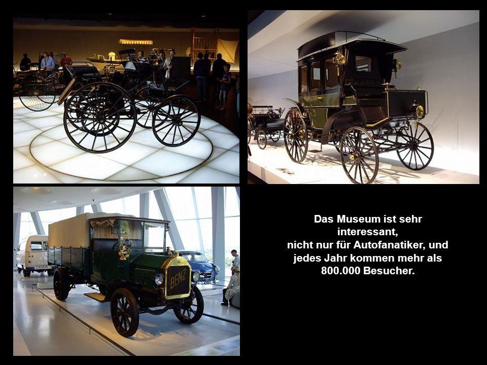 Besuch im Mercedes Museum