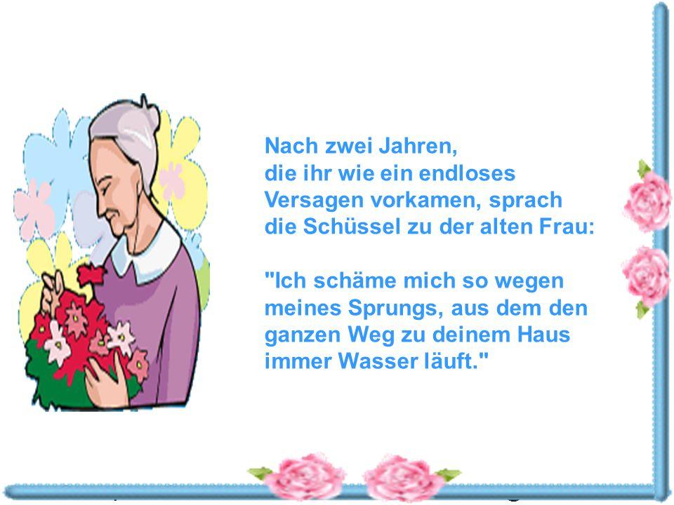 Powerpoints bestellen-Mail an fun-mail-4-u-subscribe@domeus.de Die alte Frau lächelte.