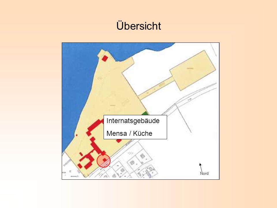 Nord Übersicht Internatsgebäude Mensa / Küche