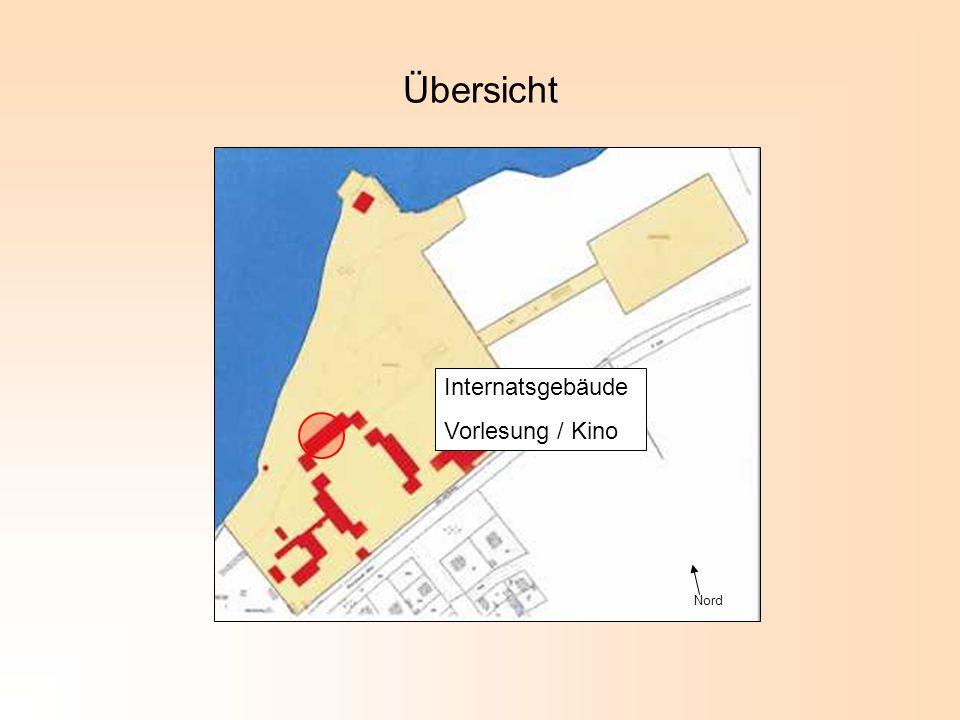 Nord Übersicht Internatsgebäude Vorlesung / Kino