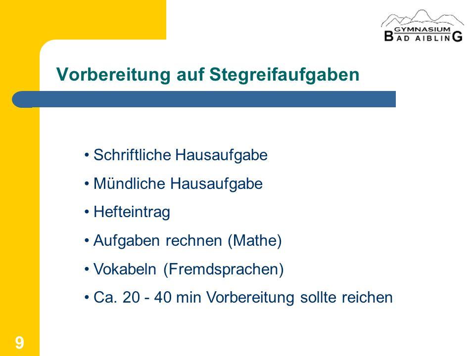 30 Zum Nachlesen http://gymnasium-bad-aibling.de/schule/schulberatung/ http://www.gymnasium-bad-aibling.de/ http://www.pohlw.de