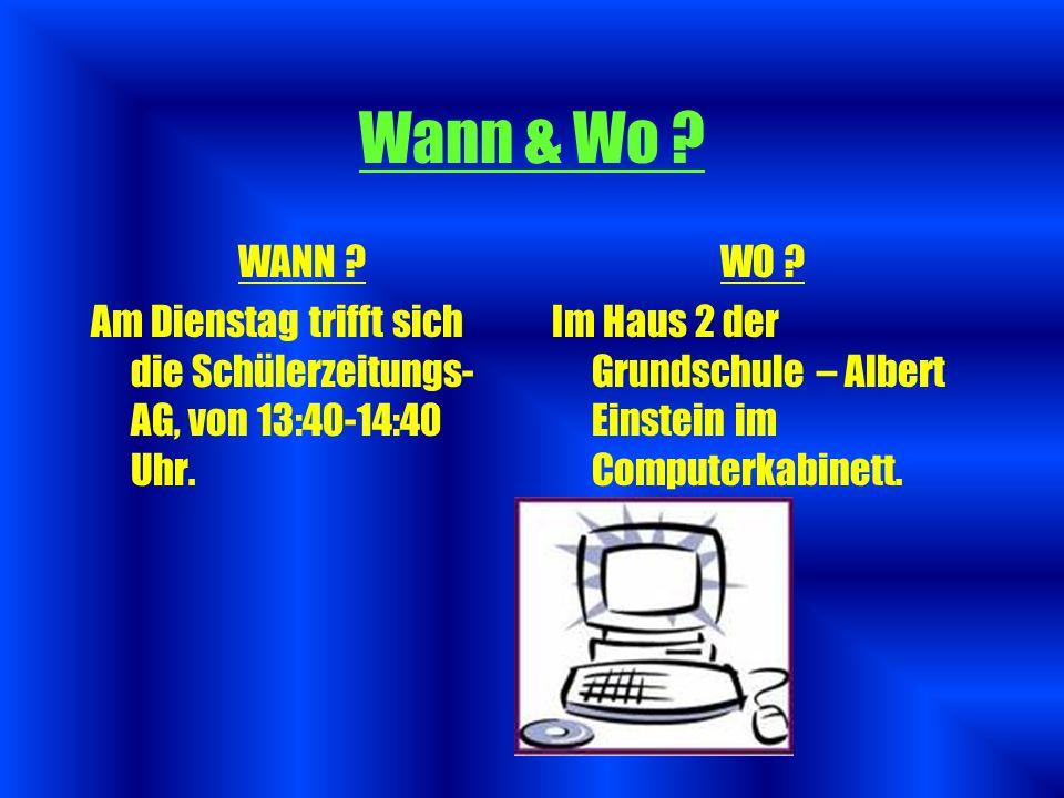 Wann & Wo ? Mitglieder Zweck Homepage Einsteinchen – Ausgaben Zusammenfassung Abspann Gliederung Let`s go!! Let`s go!!