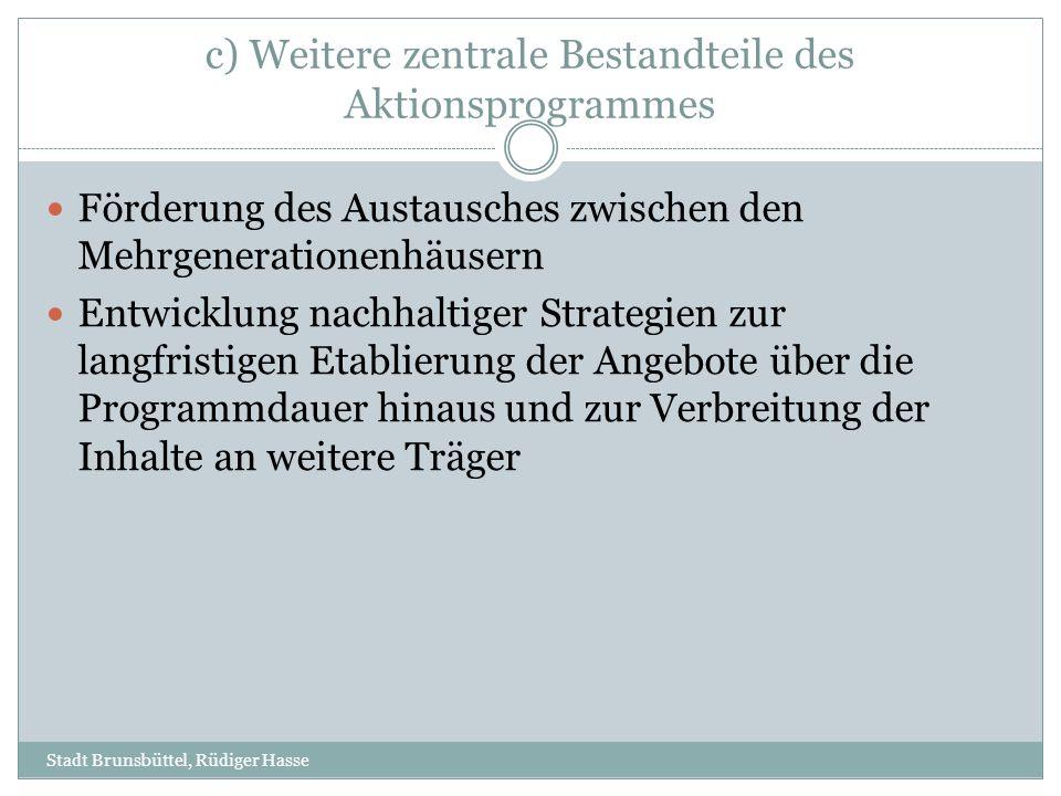 1.VERNETZUNG 2. SELBST-MONITORING UND WIRKUNGSFORSCHUNG 3.