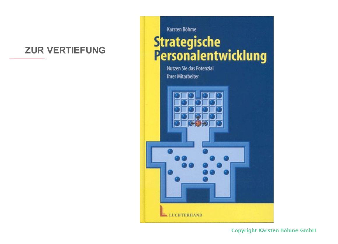 Copyright Karsten Böhme GmbH ZUR VERTIEFUNG