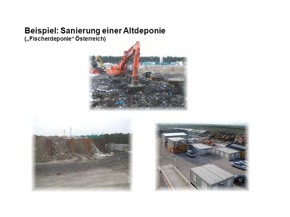 Beispiel: Sanierung einer Altdeponie (Fischerdeponie Österreich)