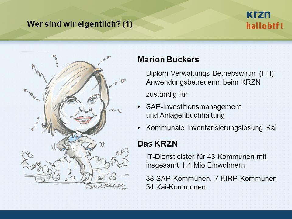 hallobtf! gmbh / Kai-Inventarisierungstag 2010 / Seite 3 Wer sind wir eigentlich? (1) Marion Bückers Diplom-Verwaltungs-Betriebswirtin (FH) Anwendungs