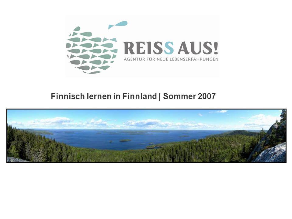 Finnisch lernen in Finnland | Sommer 2007
