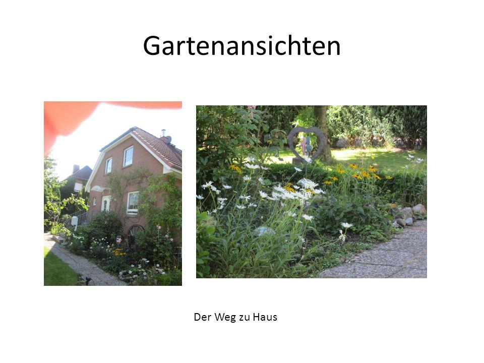 Gartenansichten Der Weg zu Haus