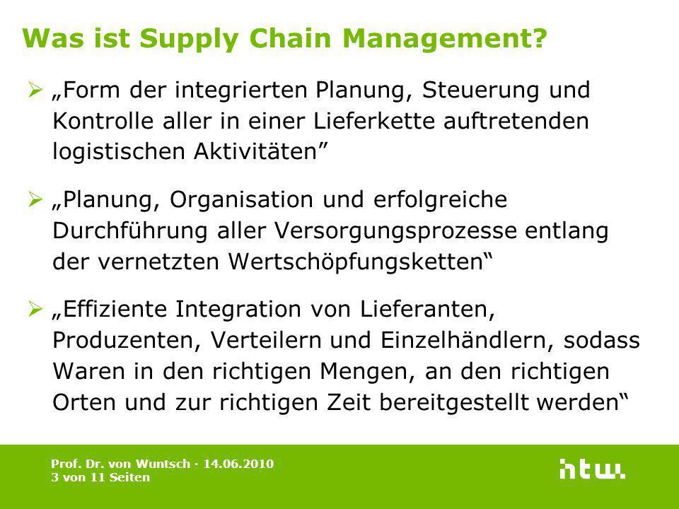 Form der integrierten Planung, Steuerung und Kontrolle aller in einer Lieferkette auftretenden logistischen Aktivitäten Planung, Organisation und erfo