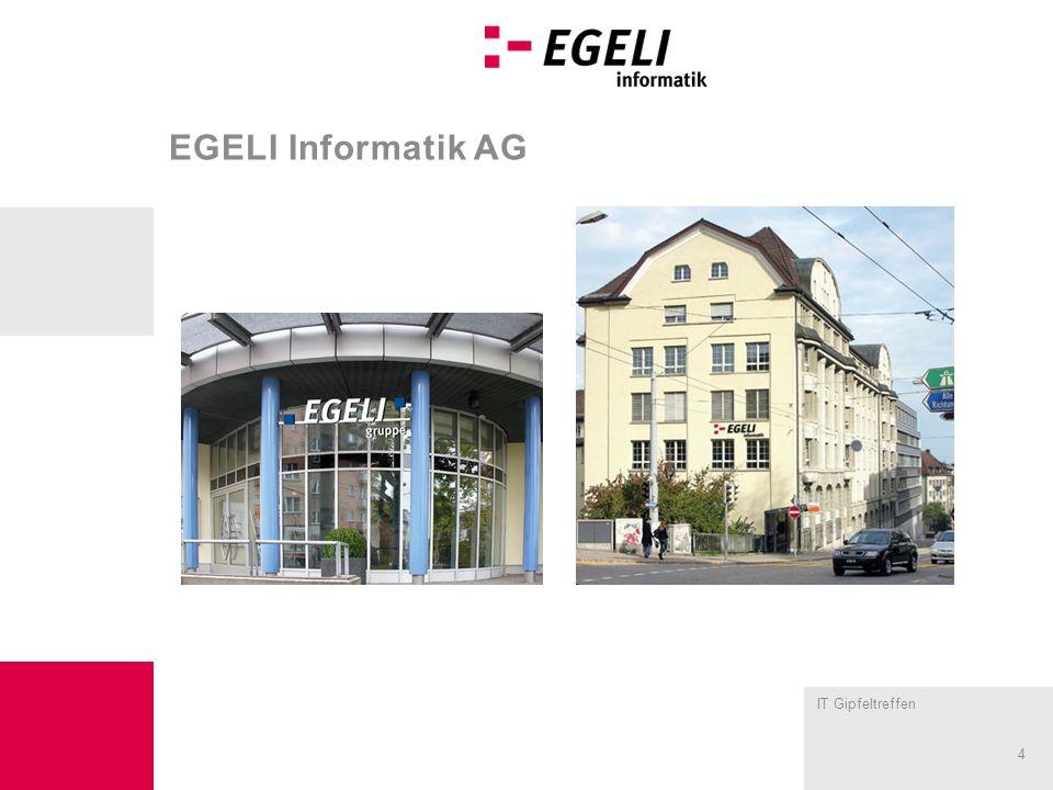 IT Gipfeltreffen 4 EGELI Informatik AG