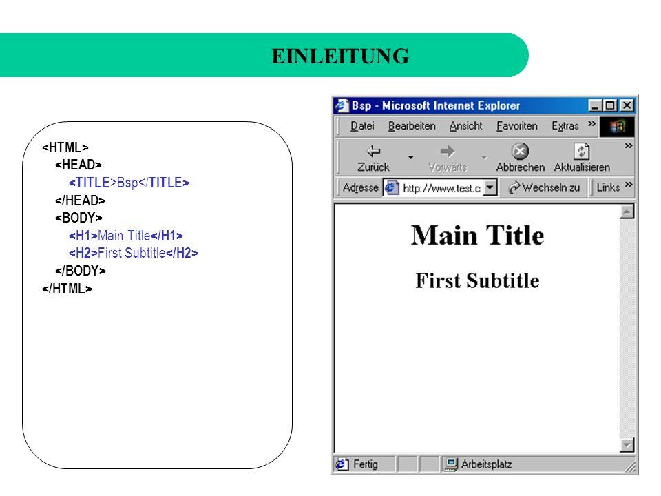Noch einige Bemerkungen...XML-Dokument muss well-formed sein!.