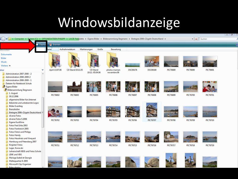 Windowsbildanzeige