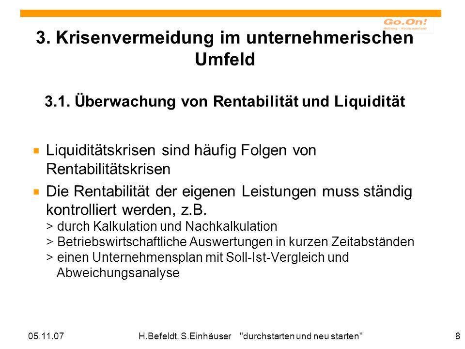 05.11.07H.Befeldt, S.Einhäuser durchstarten und neu starten 8 3.