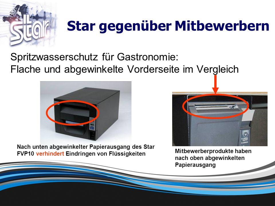 Zuverlässigkeit Bewährte Star-Qualität 60 Mio.MCBF gegenüber 52 Mio.