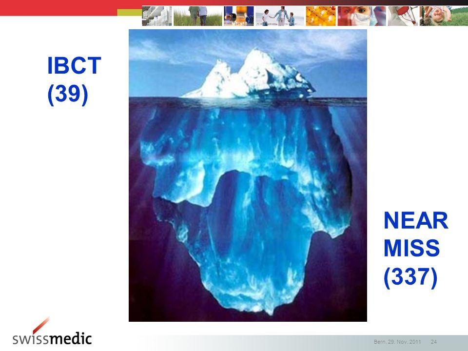IBCT (39) NEAR MISS (337) Bern, 29. Nov. 2011 24