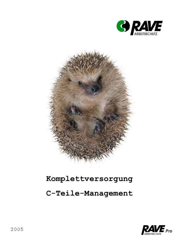 Pro Komplettversorgung C-Teile-Management 2005
