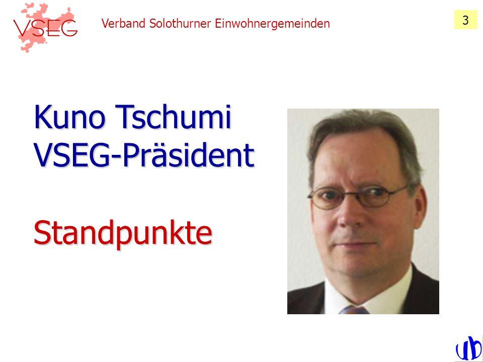 Verband Solothurner Einwohnergemeinden 34 Wahlen Wahlen Traktandum 6 von Arx Markus, GP, Erlinsbach Bezirk Gösgen