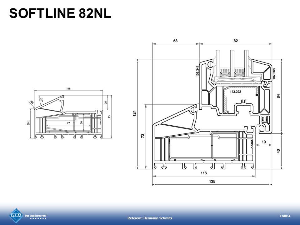 Referent: Hermann Schmitz Folie 15 Verbesserte Verbindungstechnik zum Blendrahmen für kurze Montagezeiten.
