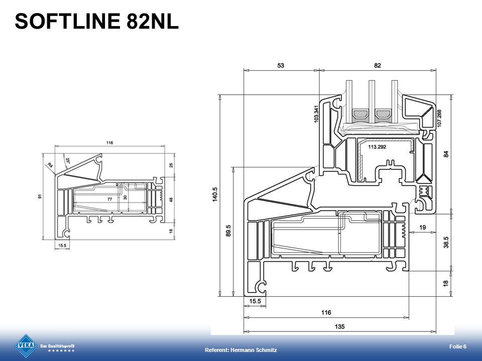 Referent: Hermann Schmitz Folie 6 SOFTLINE 82NL