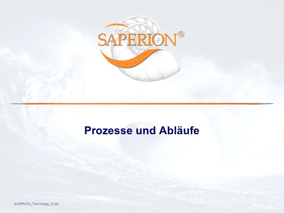SAPERION_Technology_D.ppt Prozesse und Abläufe