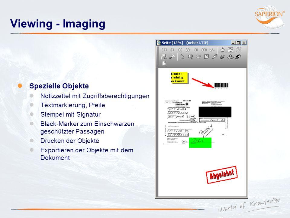 Viewing - Imaging Spezielle Objekte Notizzettel mit Zugriffsberechtigungen Textmarkierung, Pfeile Stempel mit Signatur Black-Marker zum Einschwärzen g