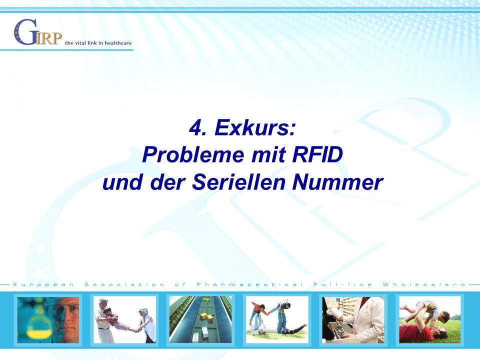 4. Exkurs: Probleme mit RFID und der Seriellen Nummer