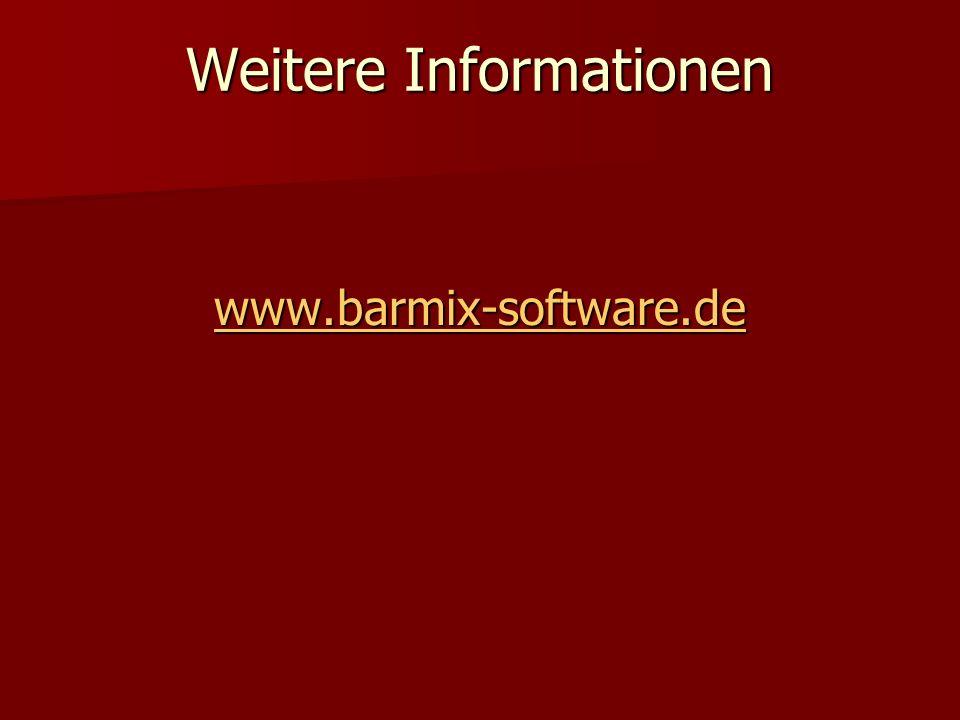Weitere Informationen www.barmix-software.de
