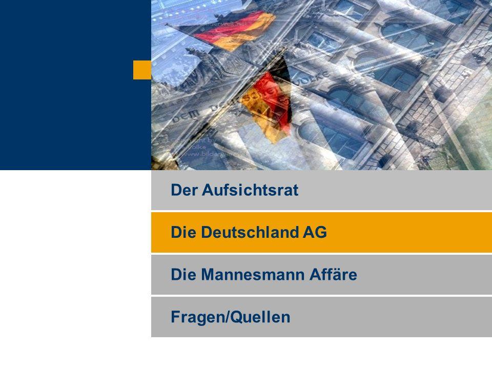 Ingo Hanekamm, Michael Mack und Florian Speth Die Deutschland AG Wer besitzt in Deutschland Macht .