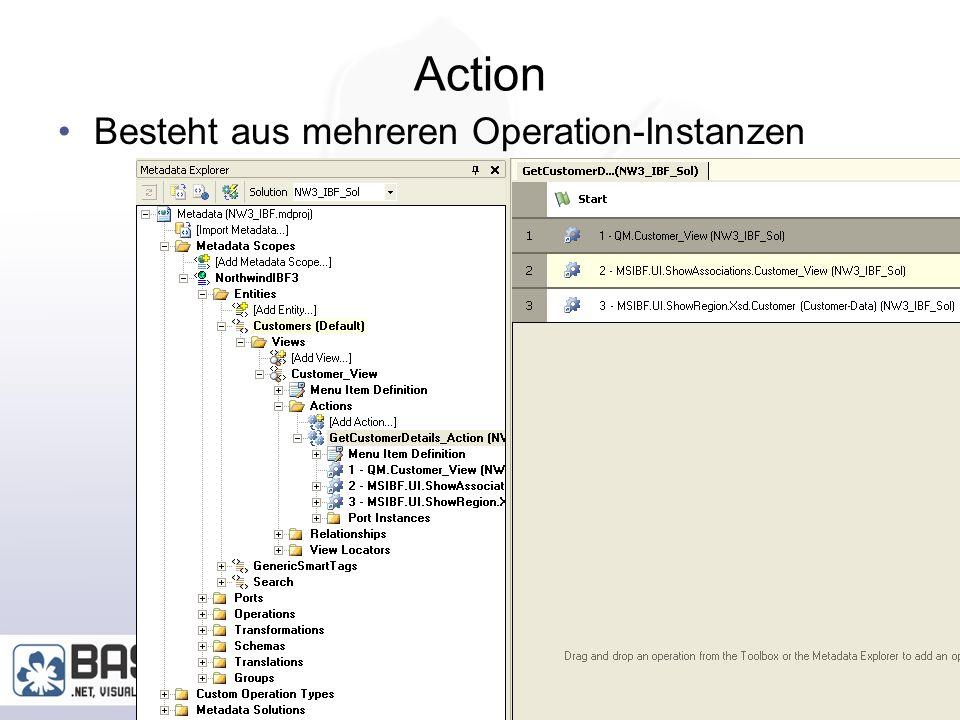 Marcel Gnoth, www.gnoth.net 41 Region Creation Wizard Erzeugt eine Region UserControl HTML Erzeugt eine Action Für die Darstellung Bug bei nicht englische.Net Wizard verwendet XSD.exe und prüft englische Textausgaben!.