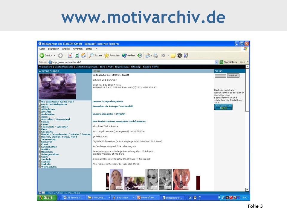 Folie 3 www.motivarchiv.de