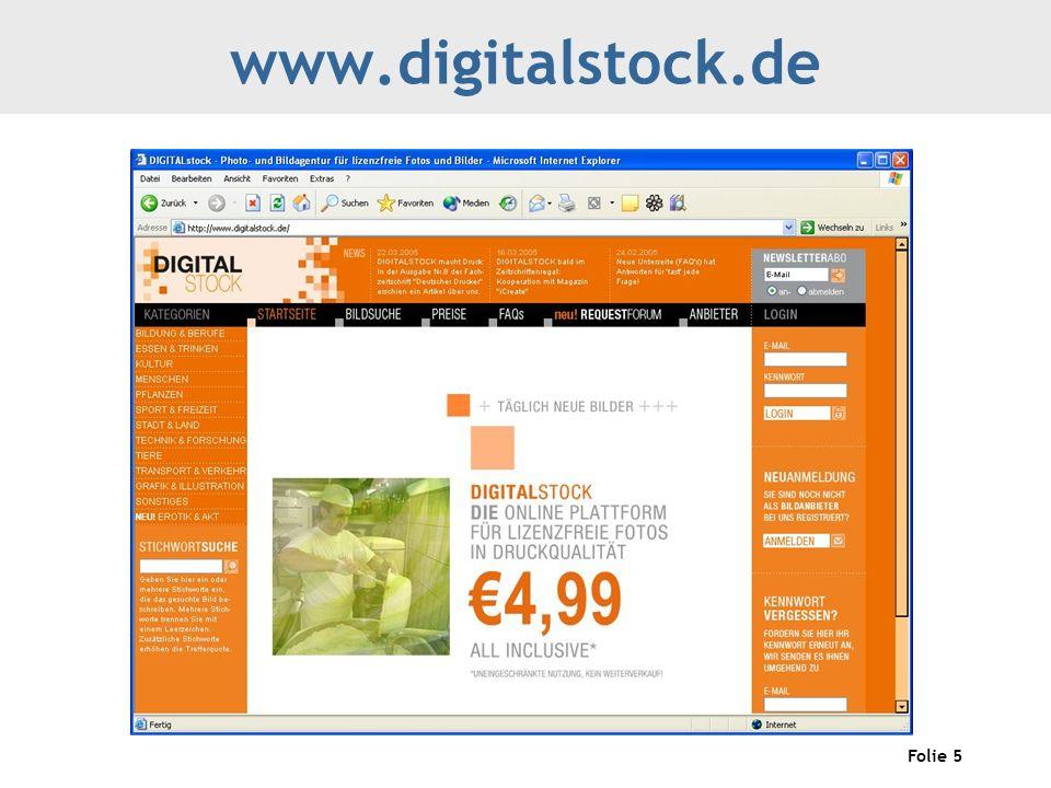 Folie 5 www.digitalstock.de