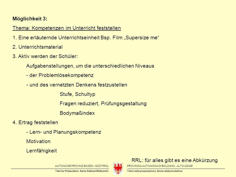 AUTONOME PROVINZ BOZEN - SÜDTIROLPROVINCIA AUTONOMA DI BOLZANO - ALTO ADIGE Titolo della presentazione, Nome relatore/relatriceTitel der Präsentation, Name Referent/Referentin Bücher- und Linktipps Differenzierende Lernaufgaben und Experimente im Chemieunterricht vom MNU Kongress Freiburg 2012 Einstein-Online das WWW-Portal zu Einsteins Relativitätstheorien: Informationen und Animationen für Lehrer und Schüler, Links und Literatur sowie Lexikon mit über 250 Begriffe: www.einstein-online.info Seite der Chemie Baden-Württemberg: www.chemie.com/schule/unterrichtsmaterialien.html mit vielen interessanten Unterrichtsmaterialien (z.