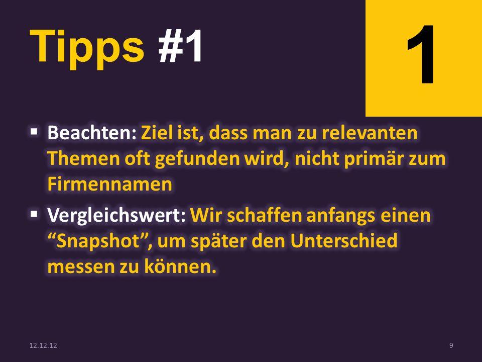 Tipps #1 12.12.129 1