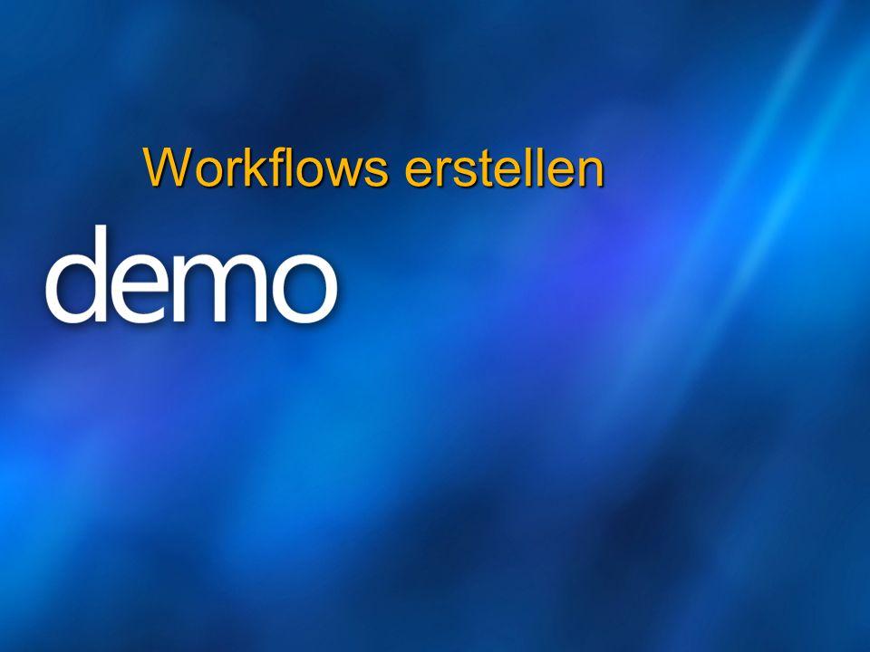 Workflows erstellen