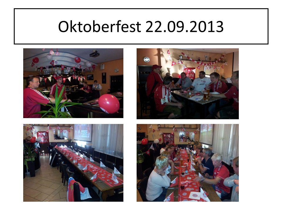 Oktoberfest 22.09.2013