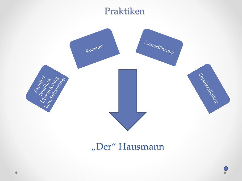 Der Hausmann Familie / familiäre Überlieferung bzw.